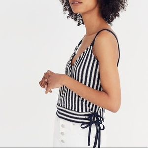 Madewell Finale Striped Tank Top